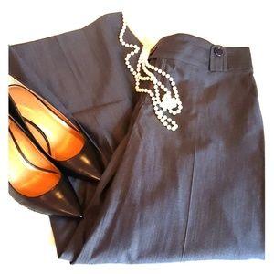 BANANA REPUBLIC WIDE LEG PLEATED DRESS PANTS